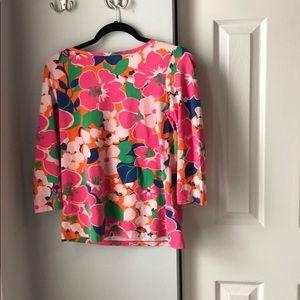 Talbots Floral Shirt - Medium Petite
